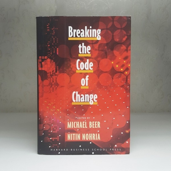 영문서적 Breaking the Code of Change