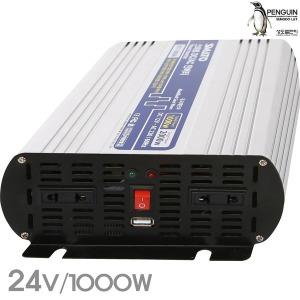 DC/AC 인버터 전류변환기 IVT1000B/DC24v 출력1000W
