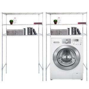 국산세탁기메탈선반3단수납장1200바구니형 김치냉장고