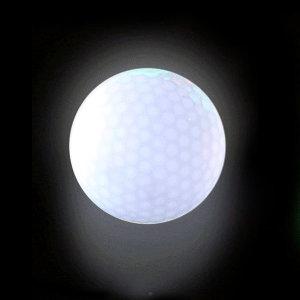 LED골프공 (흰색) 발광골프공 야광골프공 야간필드