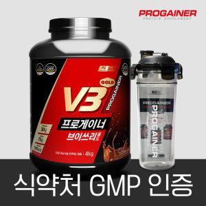 [프로게이너] 프로게이너 V3 골드 4kg_그레인초코 19곡 곡물 게이너