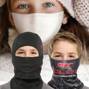 9FX 겨울 방한 어린이 바라클라바/넥워머/기모마스크