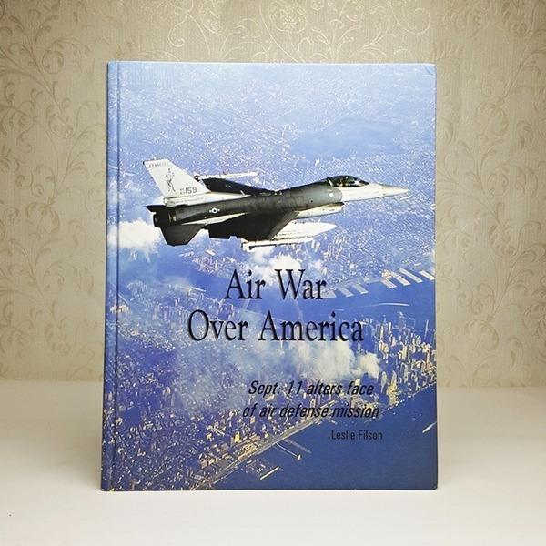 영문서적 Air War Over America sept.11alters face