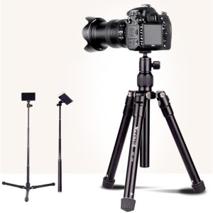 ZNS-235 카메라 삼각대 셀카봉 스마트폰 홀더 포함