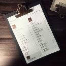 무료마킹 클립보드 A5용-메뉴판 빌지 파일 서류철