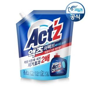 액체세제 퍼펙트 베이킹 2.2L 4개 +프리미엄젤1L증정