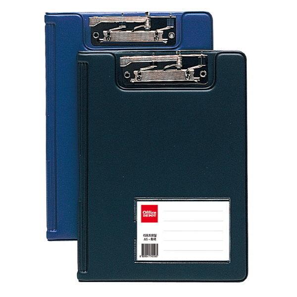 리포트화일(A4/흑색/OfficeDEPOT)