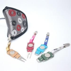 로봇 디봇툴 퍼터키퍼 3in1 볼마커 퍼터커버홀더 디봇