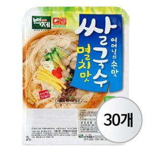 백제 멸치맛 쌀국수 92g X 30개