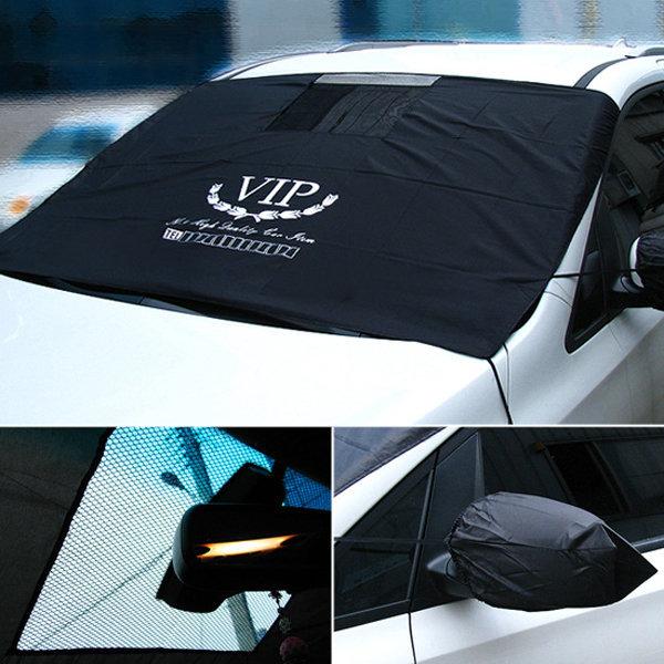 VIP 썬커버 햇빛가리개 블랙박스용 자동차커버
