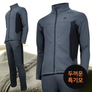 두꺼운 기모 휄라인s 츄리닝세트 남자 추리닝 운동복