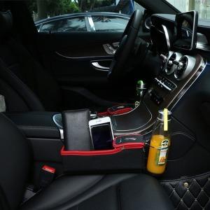 차량용 인조가죽 고급 사이드 포켓 운전석 보조석