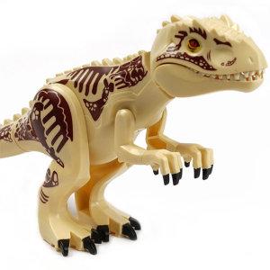 쥬라기월드 공룡 대형 소형 베이지 인도미누스 렉스