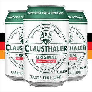 클라우스탈러 (330mlx24캔) 독일 맥주맛 탄산음료