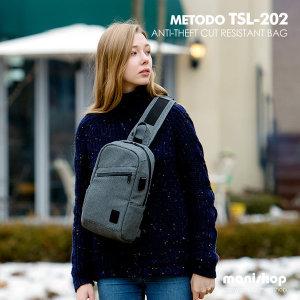 미토도 TSL-202 크로스백/백팩/도난방지 여행가방