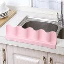 물막이 1+1 물결 싱크대 실리콘 물막이 핑크+그레이