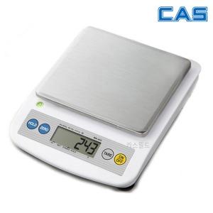 카스 주방저울 업소용 가정용 WK-4C 5kg 계량 저울