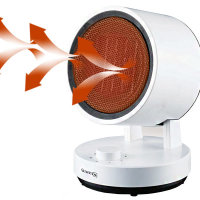 핫큘레이터 LSH-540PT/미니온풍기/좌우회전 히터/난로