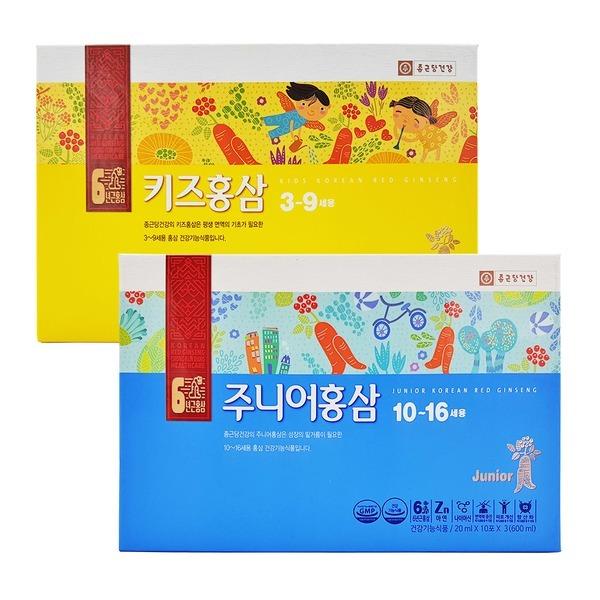 종근당건강 어린이 홍삼 20ml x 30포