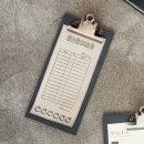 무료마킹 클립보드 빌지용-메뉴판 빌지 파일 서류철