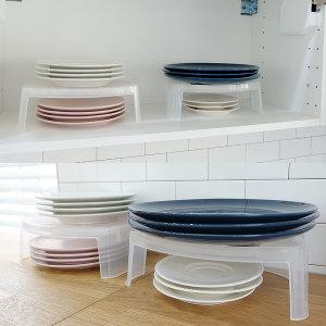 일본 접시 수납받침 접시받침대 - 상품 이미지