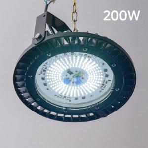 지오 LED 공장등 200w 국산 오스람칩 KS산업등 투광기