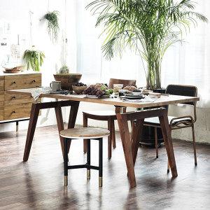 매스티지데코  마이 시그니처 런더너 원목 테이블(빈티지)