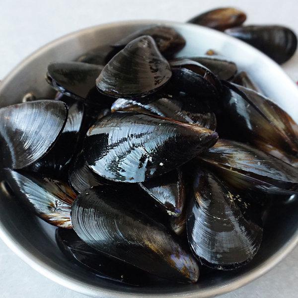 여수 세척 홍합 10kg (수염제거)
