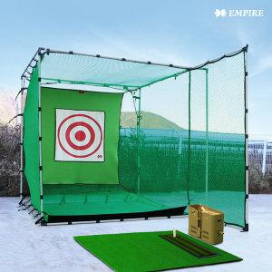 풀세트 확장형 골프망 3000 Golf100 골프연습장