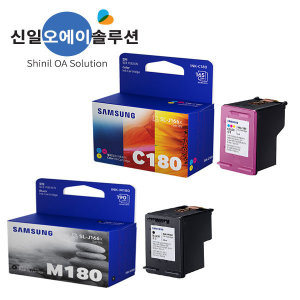 (S1)삼성정품 INK-C180/M180/SL-J1660/J1663/J1665