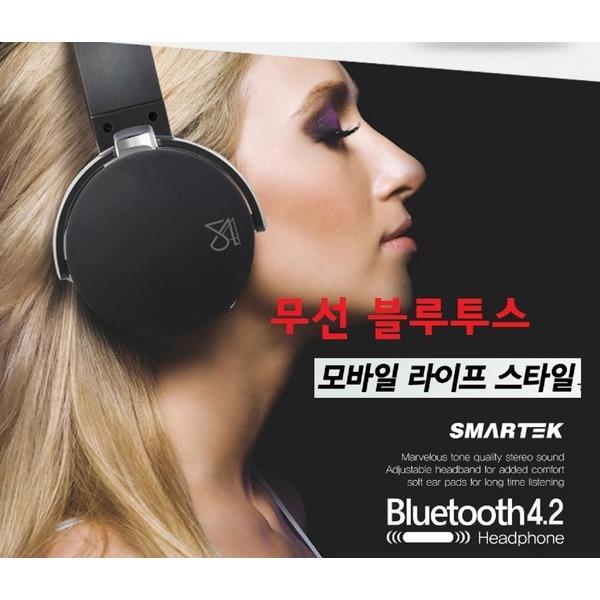 무선블루투스/헤드폰-FM라디오/MP3 음성지원-마이크-3