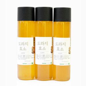 지리산 도라지효소 / 도라지발효액 / 도라지청 500mlx3