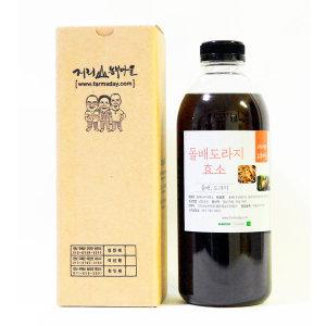 돌배도라지효소/돌배도라지발효액/돌배도라지청 1000ml