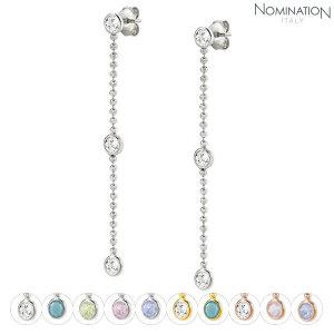 (노미네이션(NOMINATION)) 귀걸이 BELLA (벨라) BLOOM earrings silver and crystal 146645 (택1)