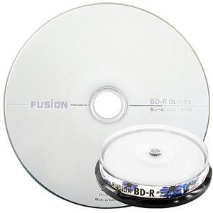 퓨전 6배속 50GB BD-R DL 블루레이 10장 케이크박스