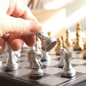 민화샵 접이식 체스게임 / 체스판 보드게임 체스 장기