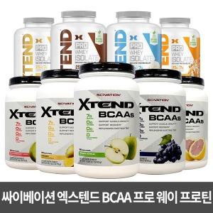 XTEND 엑스텐드 BCAA 90서빙 외 프로 웨이 프로틴