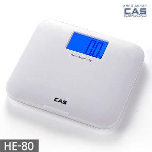 카스(CAS) 블루아이 디지털 체중계 HE-80 1년무상 AS
