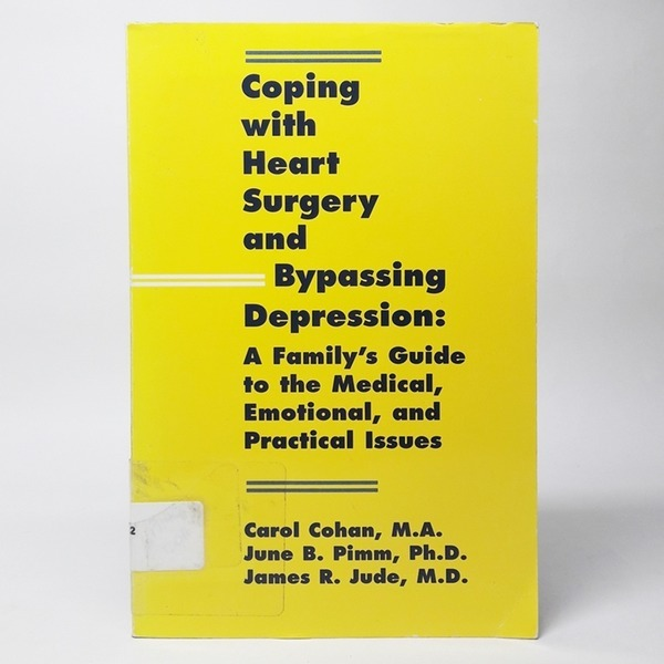 영문Coping with heart surgery and bypassing Depres