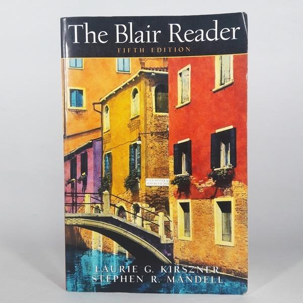 영문서적 The Blair Reader 5th Laurie G. Kirszner
