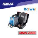 나래 ROLWAL 로웰 인버터 DC 아크 용접기 MMA-200B
