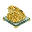 황금진주두꺼비 장식품  집들이 개업선물 삼족두꺼비