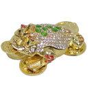 황금 삼족두꺼비 장식품(보석함G.Q) 집들이 개업선물