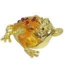 황금 삼족두꺼비 장식품(보석함R.Q) 집들이 개업선물