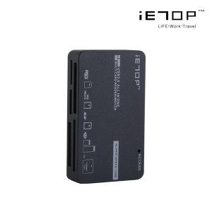 이탑 USB3.0 초고속전송 멀티리더기 C3-08 그레이