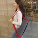 요가 스트랩 벨트 (레드) 요가매트 가방 요가용품