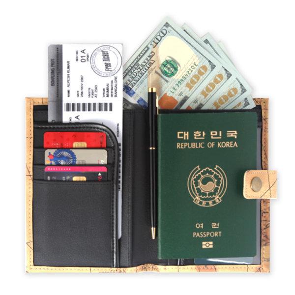 여권케이스 여권 지갑 실용성갑 여행필수템 실속템