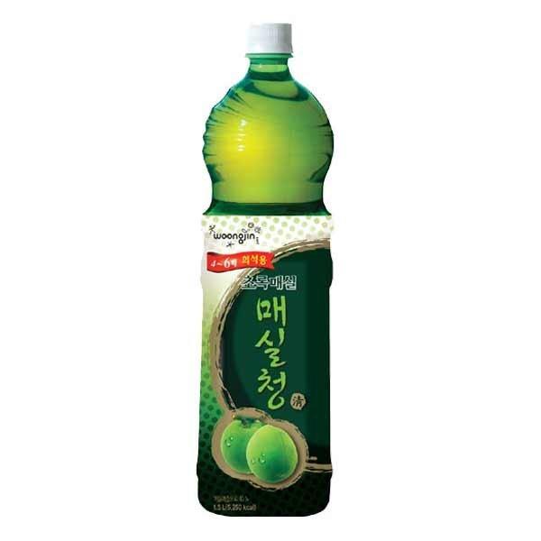 초록매실 매실청(1.5LX2페트) 매실원액