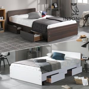 NEW 심플리 싱글 슈퍼싱글 침대 + ECO 매트리스 포함