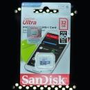 마이크로SD카드 32GB/샌디스크/(에픽D2 mp3 사용안됨)